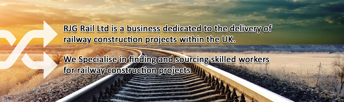 RJG Rail Ltd is a business dedicated to the delivery of railway construction projects within the UK.